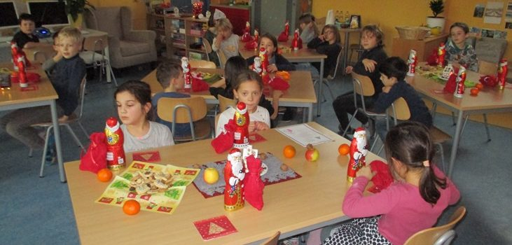 Weihnachtliche Aktivitäten im Hort