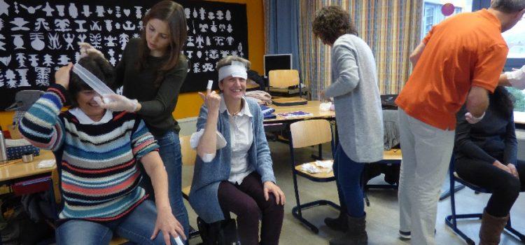 Erste-Hilfe-Kurs des Schulteams am Buß- und Bettag