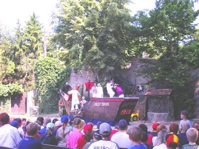Besuch der Kinderfestspiele in Giebelstadt Peter Pan