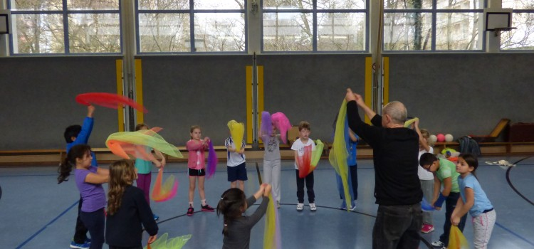 Workshop mit Clown Batschu