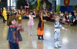 Macarena-Tanz der Kl. 3b
