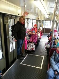 Mit der Straßenbahn zum Ziel
