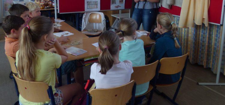 SALVE! Römertag in den 4. Klassen