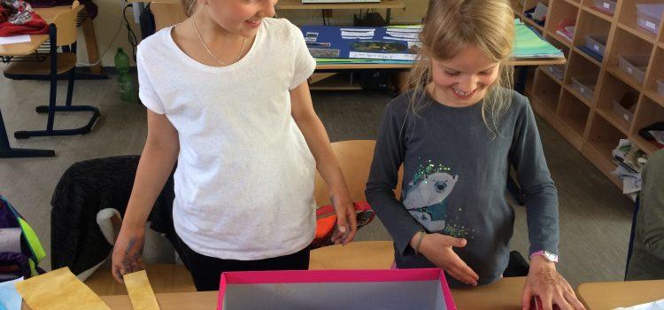 Groß hilft Klein- Tutoren in der Klasse 2b