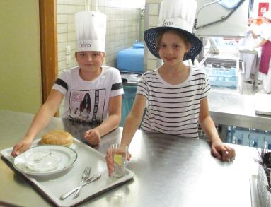 Kochen in der Klara-Oppenheimer- Schule