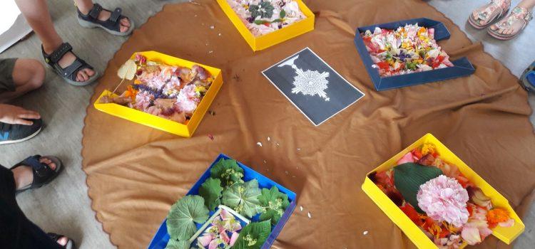 Blumenteppiche – wie an Fronleichnam